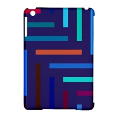 Lines Line Background Abstract Apple Ipad Mini Hardshell Case (compatible With Smart Cover)