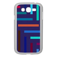 Lines Line Background Abstract Samsung Galaxy Grand Duos I9082 Case (white)