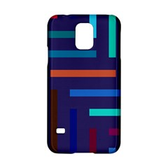 Lines Line Background Abstract Samsung Galaxy S5 Hardshell Case
