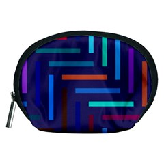 Lines Line Background Abstract Accessory Pouches (medium)