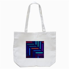 Lines Line Background Abstract Tote Bag (white)