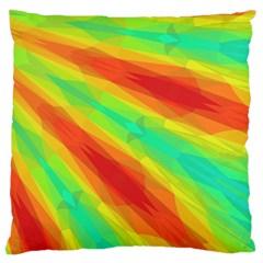 Graphic Kaleidoscope Geometric Large Cushion Case (one Side)
