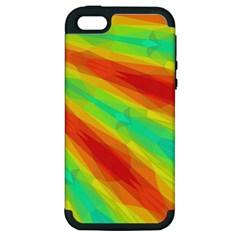 Graphic Kaleidoscope Geometric Apple Iphone 5 Hardshell Case (pc+silicone)