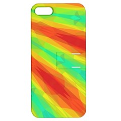 Graphic Kaleidoscope Geometric Apple Iphone 5 Hardshell Case With Stand