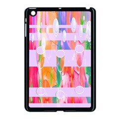 Watercolour Paint Dripping Ink Apple Ipad Mini Case (black)