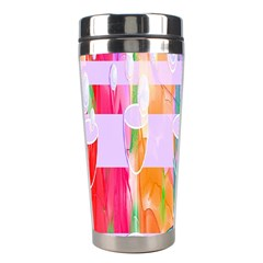 Watercolour Paint Dripping Ink Stainless Steel Travel Tumblers