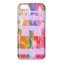 Watercolour Paint Dripping Ink Apple Iphone 5c Hardshell Case