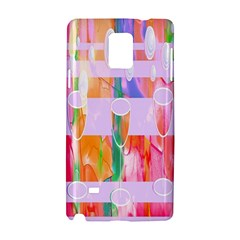 Watercolour Paint Dripping Ink Samsung Galaxy Note 4 Hardshell Case