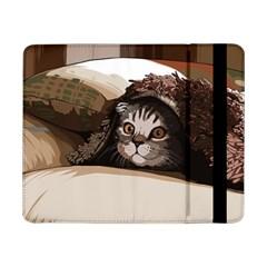 Cat Kitten Cute Pet Blanket Sweet Samsung Galaxy Tab Pro 8 4  Flip Case