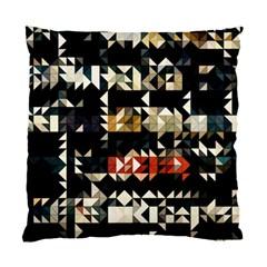 Art Design Color Banner Wallpaper Standard Cushion Case (one Side)