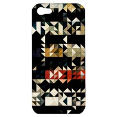 Art Design Color Banner Wallpaper Apple Iphone 5 Hardshell Case