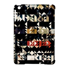 Art Design Color Banner Wallpaper Apple Ipad Mini Hardshell Case (compatible With Smart Cover)