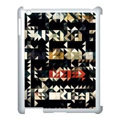 Art Design Color Banner Wallpaper Apple Ipad 3/4 Case (white)