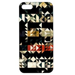 Art Design Color Banner Wallpaper Apple Iphone 5 Hardshell Case With Stand