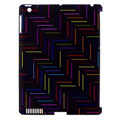 Lines Line Background Apple Ipad 3/4 Hardshell Case (compatible With Smart Cover)