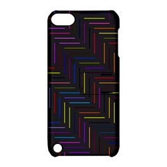 Lines Line Background Apple Ipod Touch 5 Hardshell Case With Stand