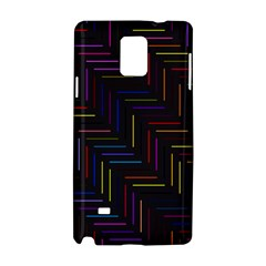 Lines Line Background Samsung Galaxy Note 4 Hardshell Case