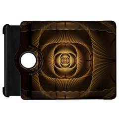 Fractal Copper Amber Abstract Kindle Fire Hd 7