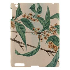 Vintage Watercolour Watercolor Apple Ipad 3/4 Hardshell Case