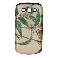 Vintage Watercolour Watercolor Samsung Galaxy S Iii Classic Hardshell Case (pc+silicone)