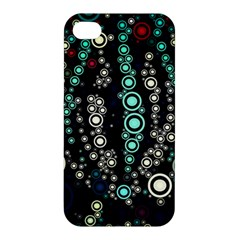 Modern Art Design Digital Apple Iphone 4/4s Hardshell Case