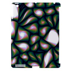 Fuzzy Abstract Art Urban Fragments Apple Ipad 3/4 Hardshell Case (compatible With Smart Cover)