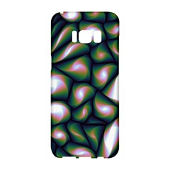 Fuzzy Abstract Art Urban Fragments Samsung Galaxy S8 Hardshell Case
