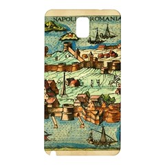 Medeival Ancient Map Fortress Samsung Galaxy Note 3 N9005 Hardshell Back Case