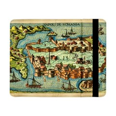 Medeival Ancient Map Fortress Samsung Galaxy Tab Pro 8 4  Flip Case
