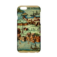 Medeival Ancient Map Fortress Apple Iphone 6/6s Hardshell Case