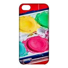 Palette Brush Paint Box Color Apple Iphone 5c Hardshell Case