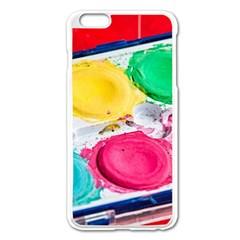 Palette Brush Paint Box Color Apple Iphone 6 Plus/6s Plus Enamel White Case