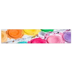 Palette Brush Paint Box Color Small Flano Scarf