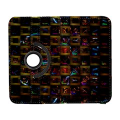 Kaleidoscope Pattern Abstract Art Galaxy S3 (flip/folio)