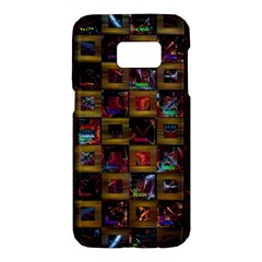 Kaleidoscope Pattern Abstract Art Samsung Galaxy S7 Hardshell Case