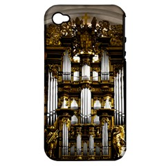 Organ Church Music Organ Whistle Apple Iphone 4/4s Hardshell Case (pc+silicone)