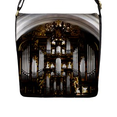 Organ Church Music Organ Whistle Flap Messenger Bag (l)