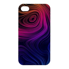 Abstract Pattern Art Wallpaper Apple Iphone 4/4s Hardshell Case