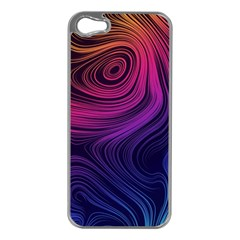 Abstract Pattern Art Wallpaper Apple Iphone 5 Case (silver)