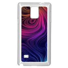 Abstract Pattern Art Wallpaper Samsung Galaxy Note 4 Case (white)