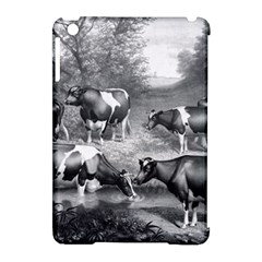 Holstein Fresian Cows Fresian Cows Apple Ipad Mini Hardshell Case (compatible With Smart Cover)