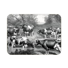 Holstein Fresian Cows Fresian Cows Double Sided Flano Blanket (mini)