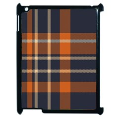 Abstract Background Pattern Textile 6 Apple Ipad 2 Case (black)