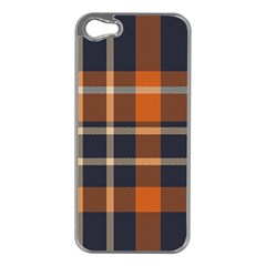 Abstract Background Pattern Textile 6 Apple Iphone 5 Case (silver)