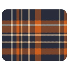 Abstract Background Pattern Textile 6 Double Sided Flano Blanket (medium)
