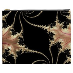 Fractal Art Design Pattern Texture Cosmetic Bag (xxxl)