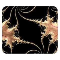 Fractal Art Design Pattern Texture Double Sided Flano Blanket (small)