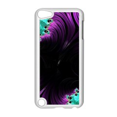 Fractals Spirals Black Colorful Apple Ipod Touch 5 Case (white)