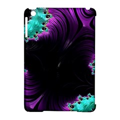 Fractals Spirals Black Colorful Apple Ipad Mini Hardshell Case (compatible With Smart Cover)