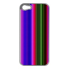 Abstract Background Pattern Textile 4 Apple Iphone 5 Case (silver)